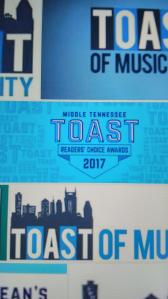 Middle Tennessee Toast 2017